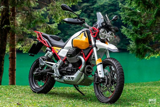 2019 Moto Guzzi V85 ADV bike