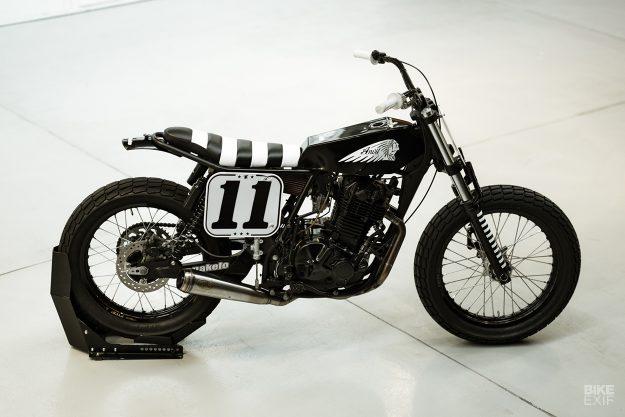 Anvil Motociclette's Suzuki flat tracker