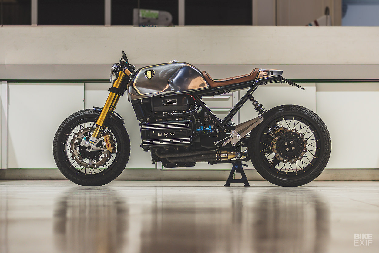 Bolt's BMW K100: The flying brick finally comes of age