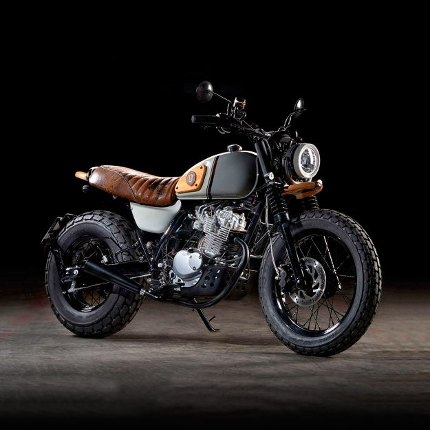 Custom Suzuki VanVan by Officine GP Design