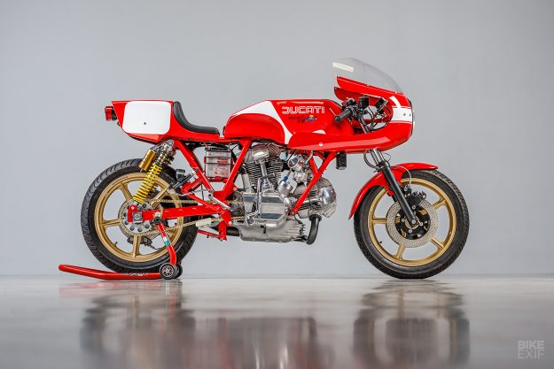 This ex-Isle of Man 900 SS is the definitive Ducati restomod