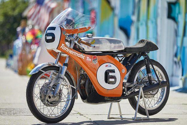 Honda CB175 AHRMA racer by Tannermatic