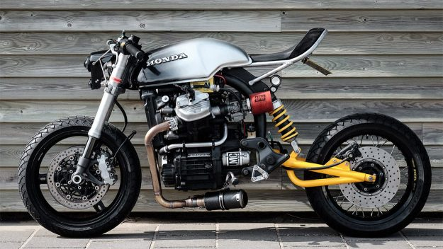 Custom Honda CX500 by Luuc Muis