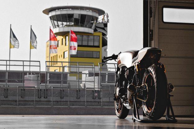 Honda Nighthawk 750 cafe racer by Kaspeed