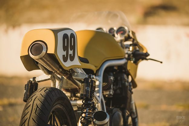 Colonel Butterscotch: A custom Suzuki Bandit 1200 from ICON 1000
