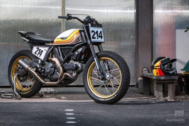 Ducati Scrambler Hooligan racer by Coterie West