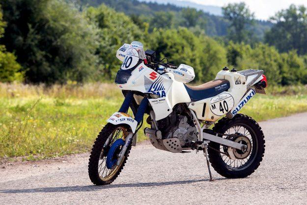 Gilles Francru's Paris Dakar Suzuki DR650