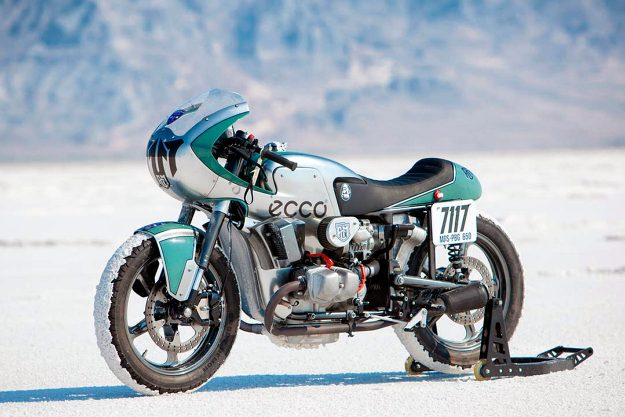 Ural land speed motorcycle by Fine Custom Mechanics