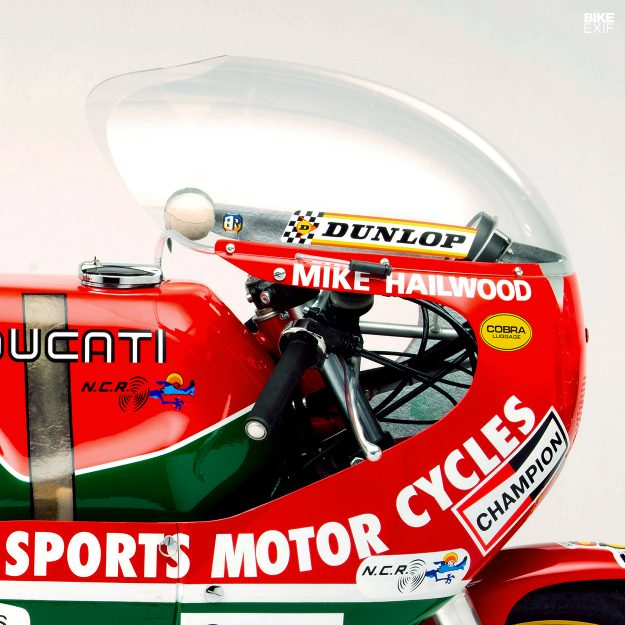 Vee Two Mike Hailwood tribute Ducati