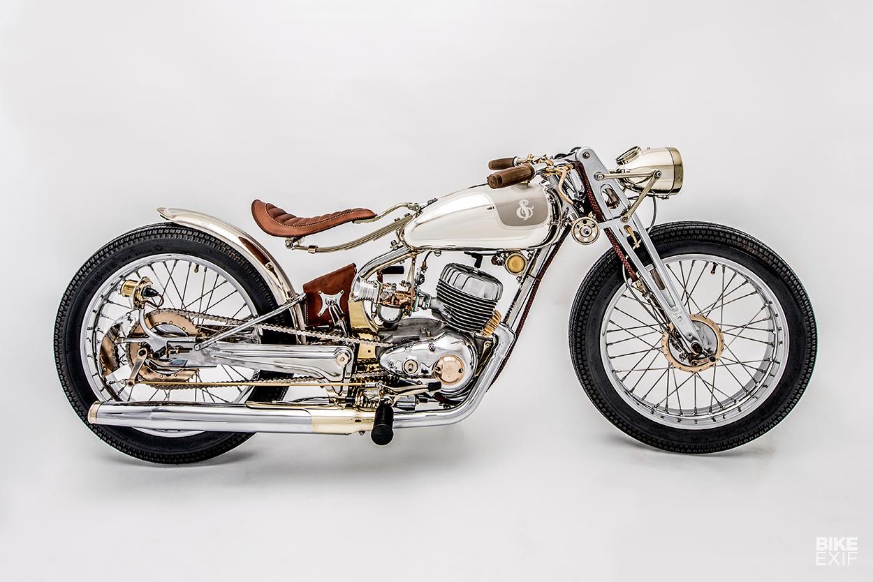 Jackson Burrows' award-winning vintage Harley-Davidson Super 10