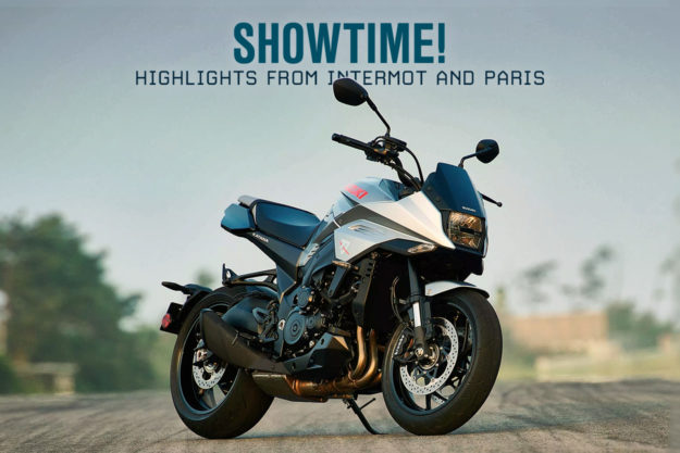 The best motorcycles from the 2018 INTERMOT and Paris shows