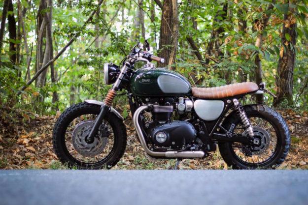 Triumph Bonneville T120 by BAAK Motocyclette