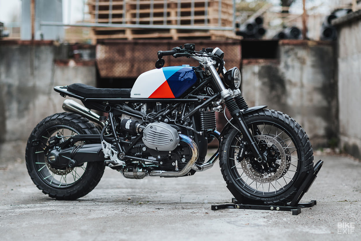 Scrambler kit for the BMW R nineT by Hookie Co.