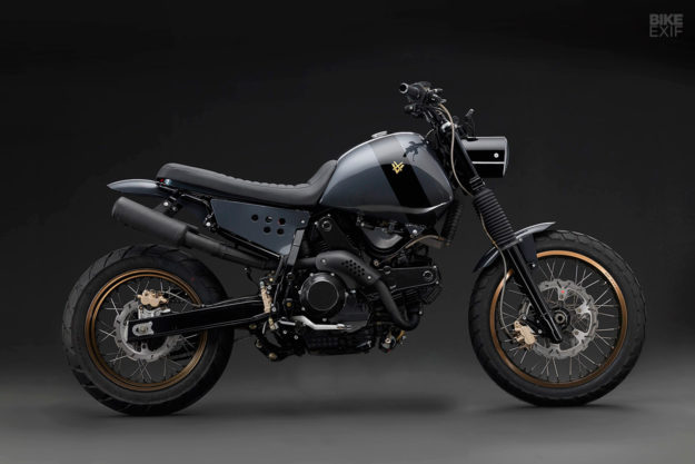 Venier restyles the Cagiva Gran Canyon