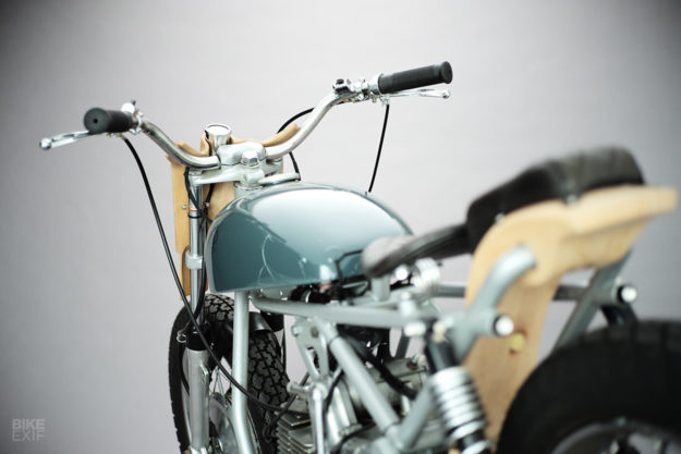 Beech racer: A classic Aermacchi 350 with a touch of wood