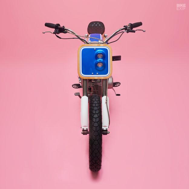 Custom Honda SS50 moped by George Woodman