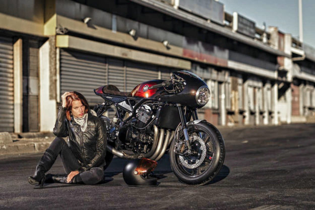Custom Kawasaki Z900RS by MRS Oficina