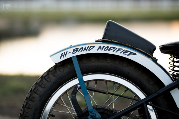 Bill Bryant's Harley WLA flat track racer