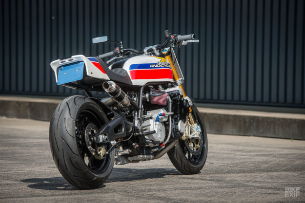 Boosted: A turbocharged Honda CBX 1000 from Rno Cycles of Holland