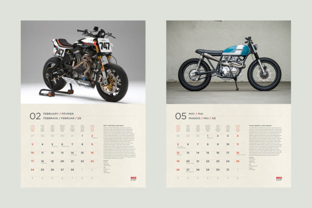 The 2019 edition of the world's most popular motorcycle calendar is now on sale.