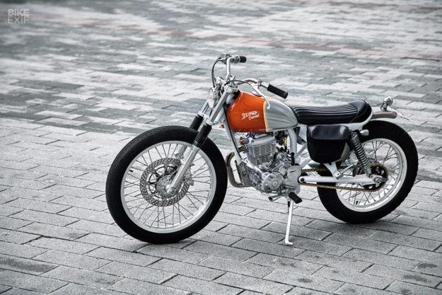 Commuter Bike Perfection: A custom SYM Wolf 125