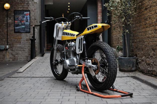 Yamaha XS750 flat tracker