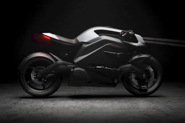 The $117,000 Arc Vector electric motorcycle