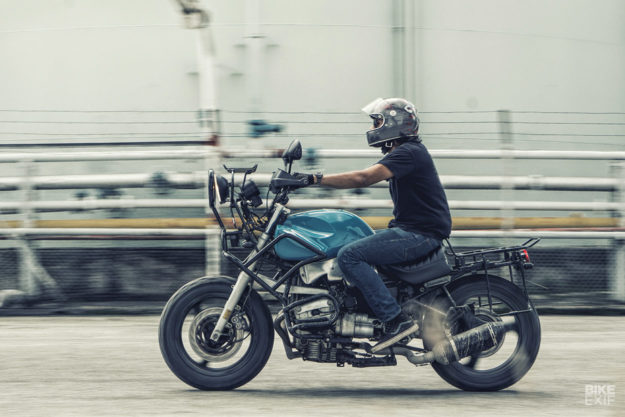 Brutal BMW: A rare custom R1100 RS from Malaysia