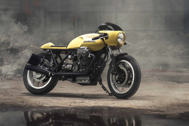 Moto Guzzi Le Mans 850 by Gas and Oil Motorcycles