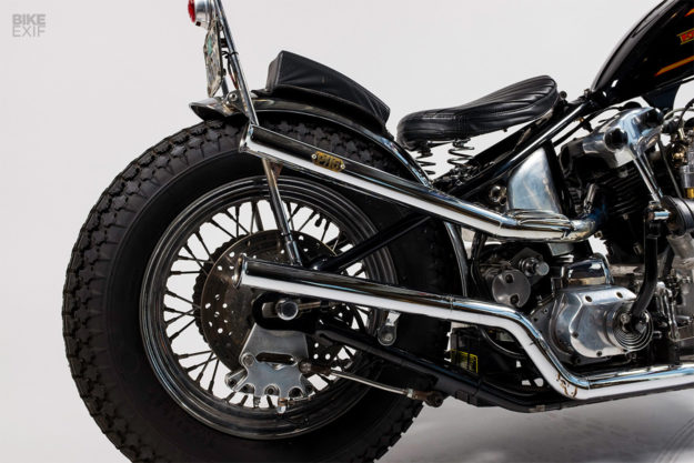 Norman Reedus' Harley Knucklehead motorcycle, built by Powerplant