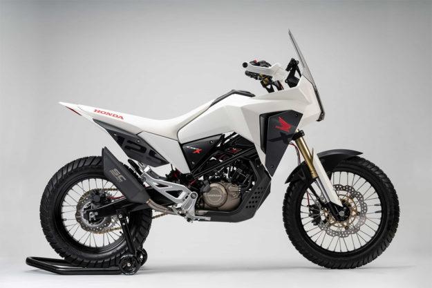 Honda CB125X adventure tourer concept