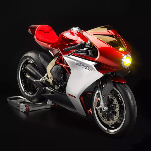 The 2019 MV Agusta Superveloce 800
