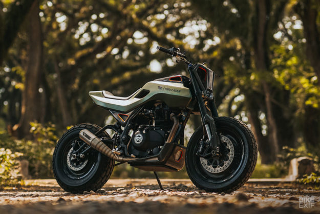 A custom Royal Enfield Himalayan from Smoked Garage