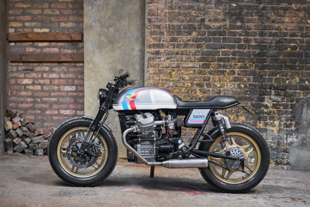 1981 Honda CX500 cafe racer