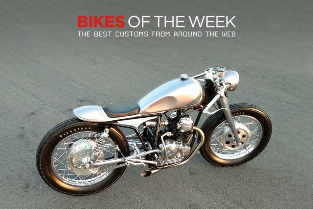 The best cafe racers, trackers and restomods of the week