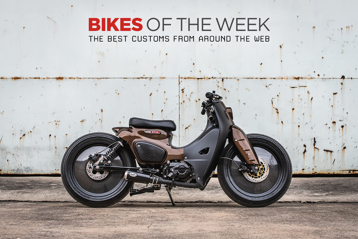 The best cafe racers, mopeds and kids' bikes of the week