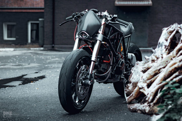 Ducati 900 SS cafe racer by Birdie Customs of Moscow