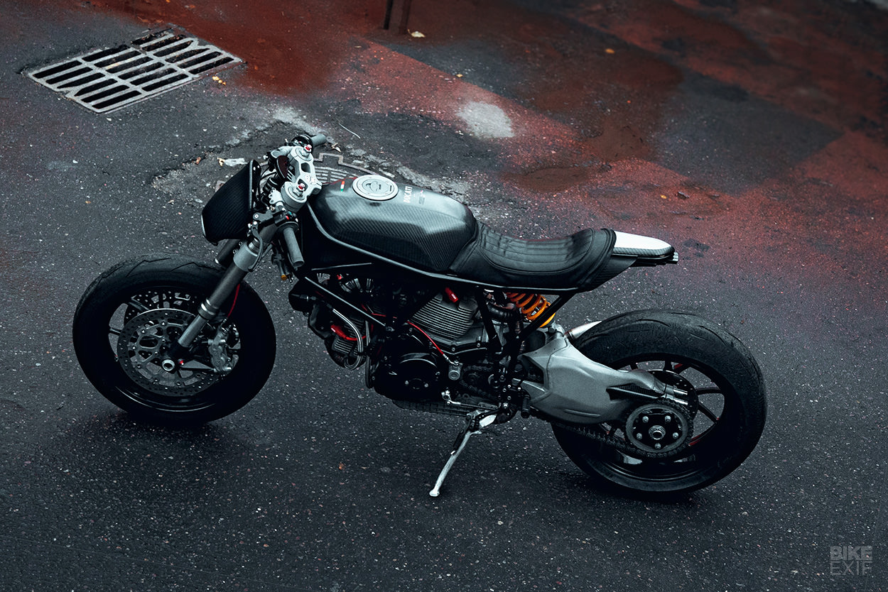 SS1100 Carbon: A rapid Ducati 900 SS from Moscow | Bike EXIF