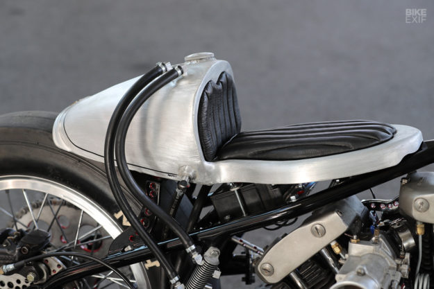 Twin-engined Harley drag bike by Hot Chop Speed Shop of Japan