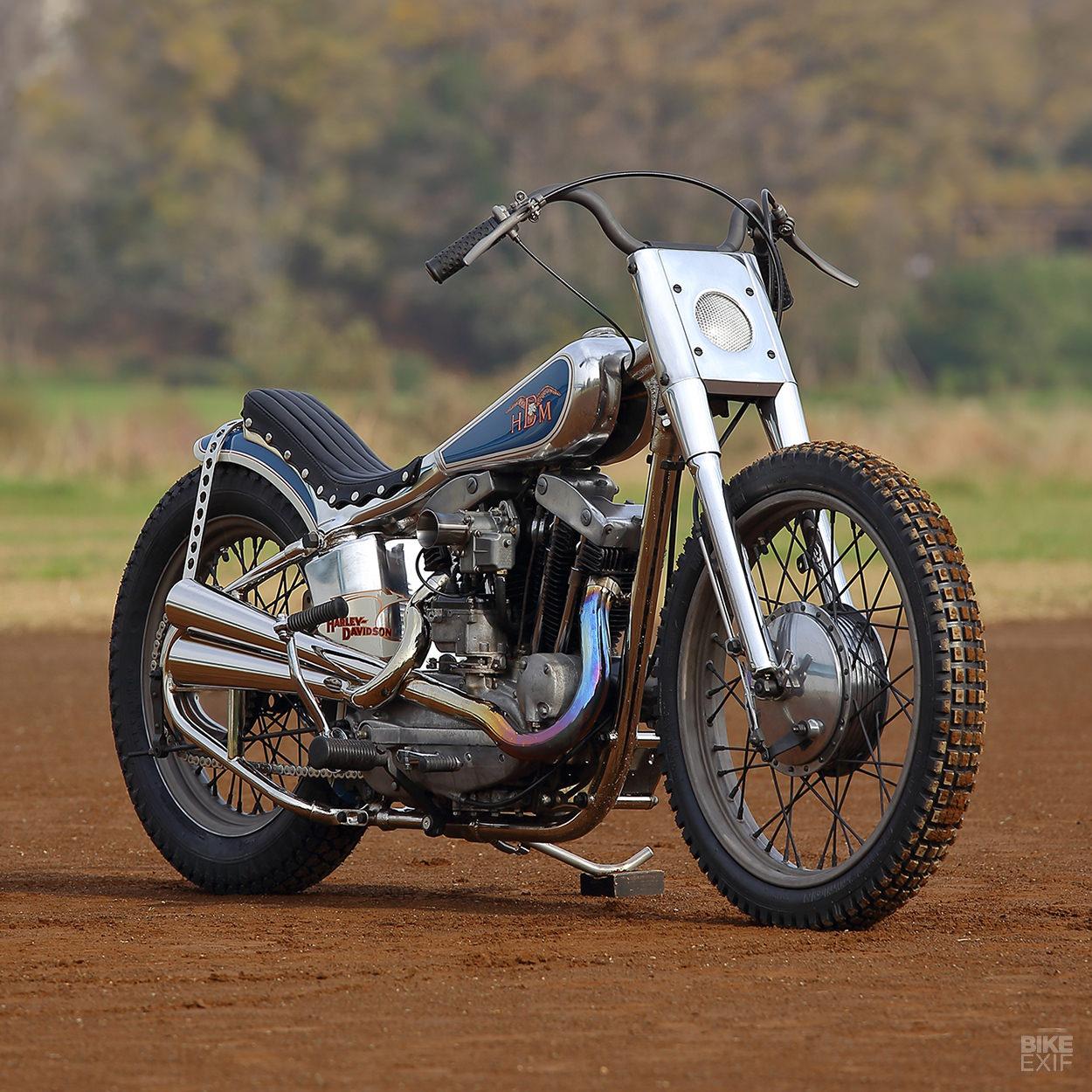 Harley ironhead: A custom Sportster from Hide Motorcycle of Japan