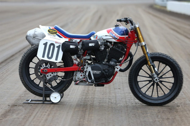 Honda RS750 racing motorcycle