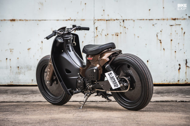 Honda Super Cub by K-Speed and Storm Aeropart