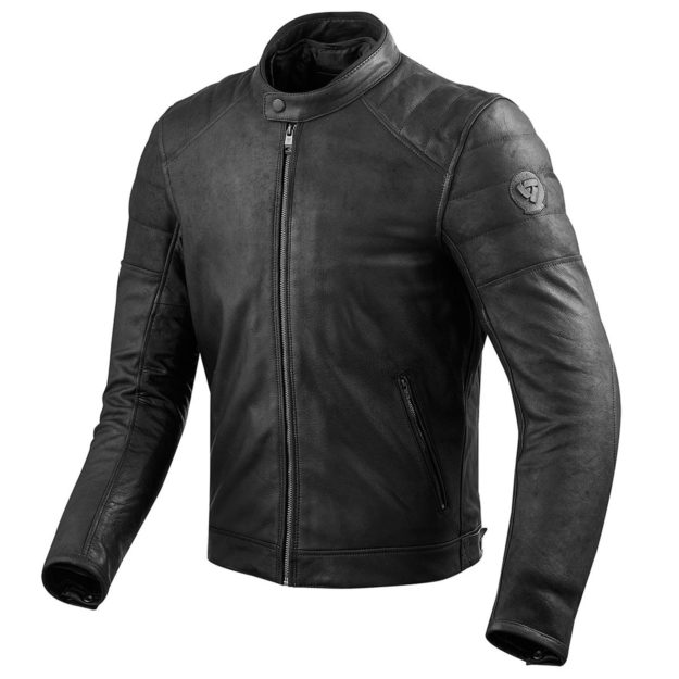 Leather motorcycle jacket: the REV'IT! Stewart