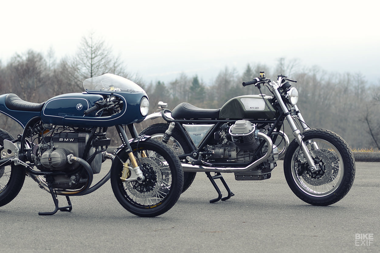 Two new vintage style motorcycles from 46Works