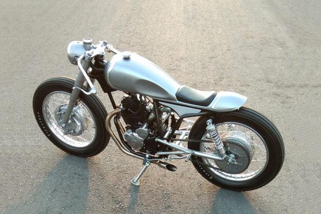 Yamaha SX225 Scorpio cafe racer