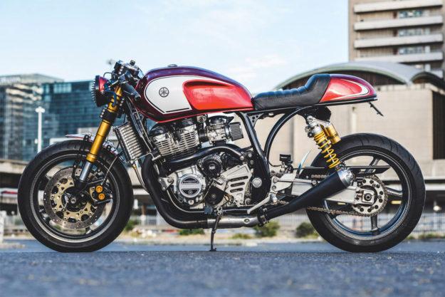 Yamaha XJR1300 cafe racer by Ian Ketterer