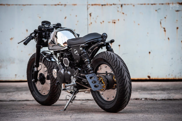 2019 Honda Monkey cafe racer by K-Speed