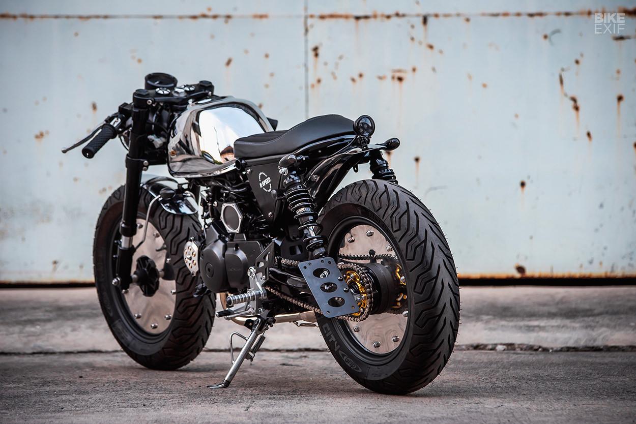 Little Ripper! K-Speed's Honda Monkey cafe racer | Bike EXIF