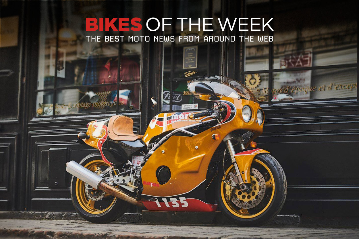 The best cafe racers, mini bikes and classic motorcycles of the week