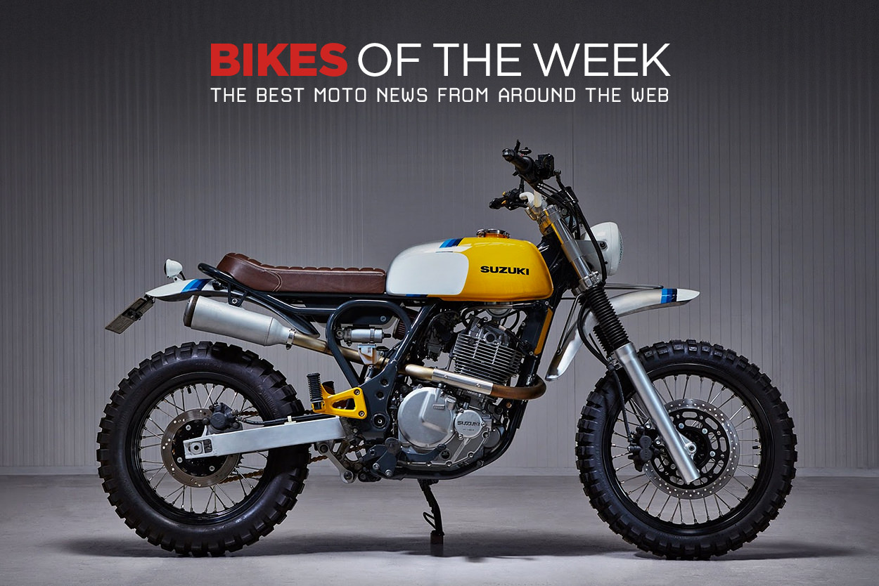 The best cafe racers, scramblers and classic motorcycles of the week